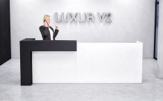 Kassentheke Verkaufstheke Luxur V2