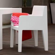 Terrassenstuhl mit Armlehnen JUT Vondom, Kunststoff