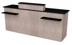 Theke mit Holzfront 2470mm