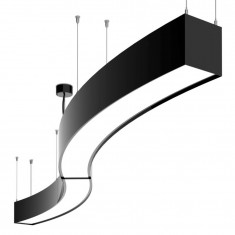 Thekenlampe ARC in S-Form