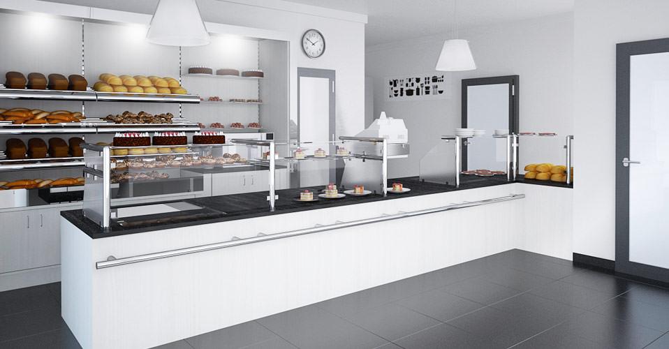 moderne Bäckereieinrichtung