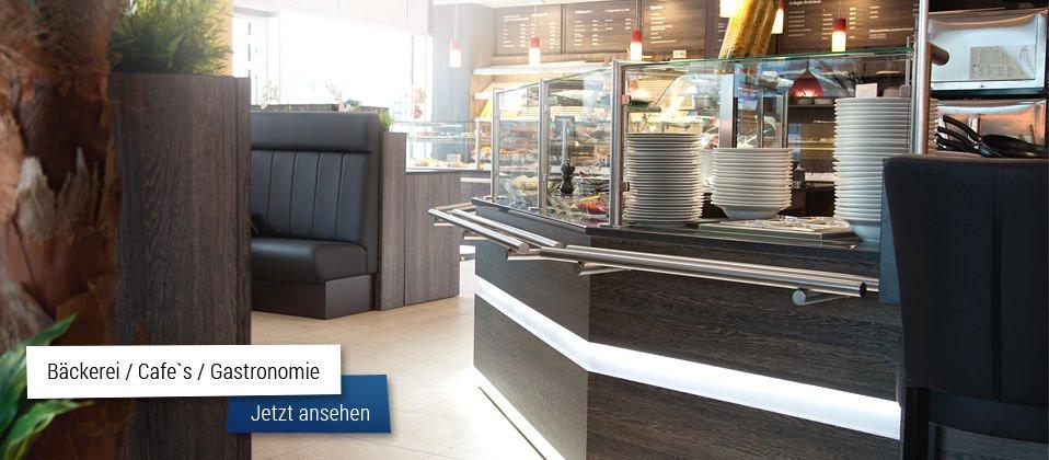 Theken für Bäckerei und Cafe