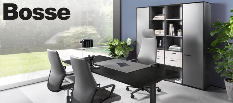 hochwertige Bosse Büromöbel | Empfangstheken, Sideboards und Schreibtische