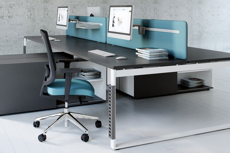 Managerschreibtisch Büro Einrichtung modern