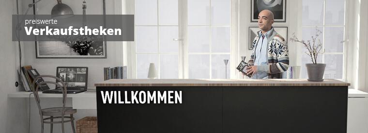 Verkaufstheken & Kassentheken modern und günstig
