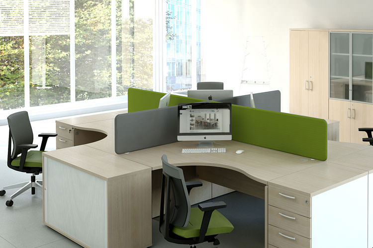 Arbeitsplatz Büromöbel