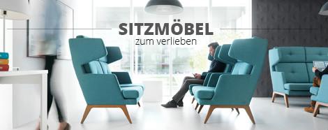 Bürostühle und Loungemöbel
