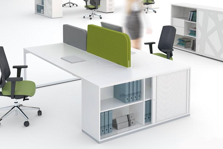 Doppelschreibtisch YAN Büromöbel