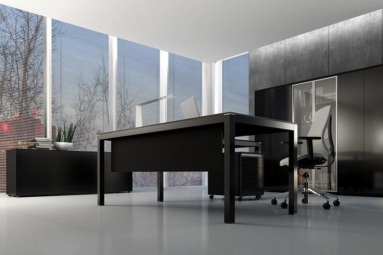 Büro Einrichtung Chefzimmer mit Schränke