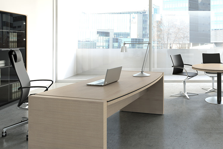 Büro Chefzimmer Schreibtisch