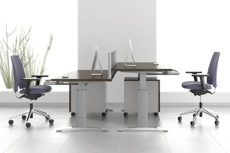 höhenverstellbarer Büro Schreibtisch