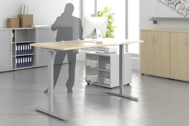 Schreibtisch zum stehen